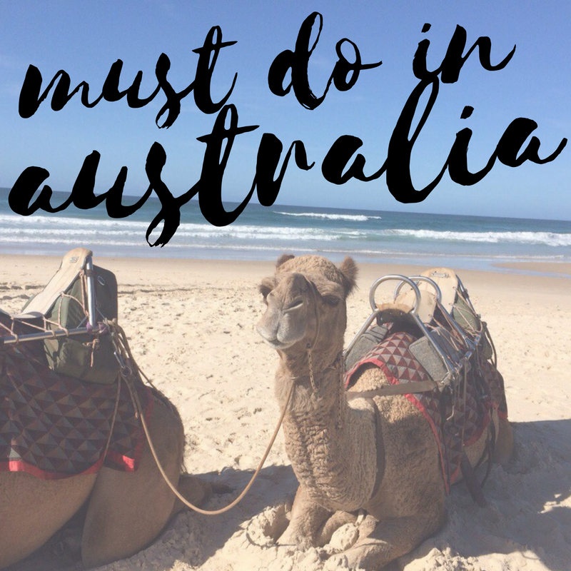 MUST DO in Australia.