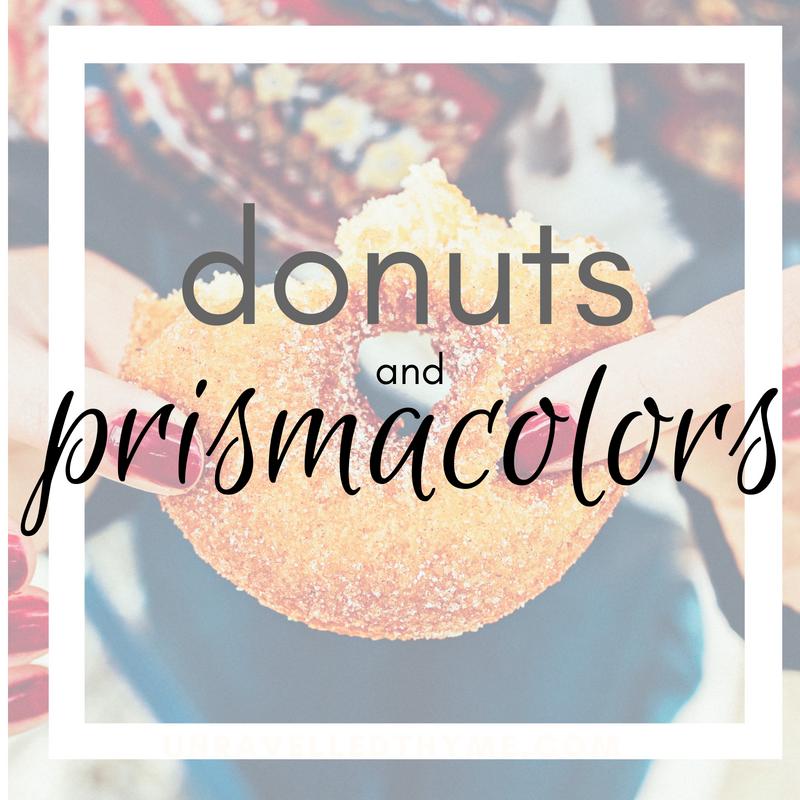 Donuts & Prismacolors