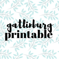 FREE Printable Guide | Gatlinburg TN
