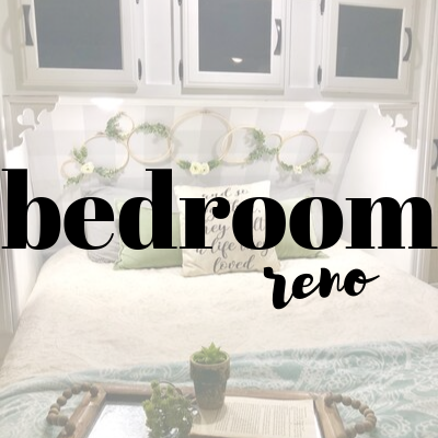 RV Bedroom Renovation